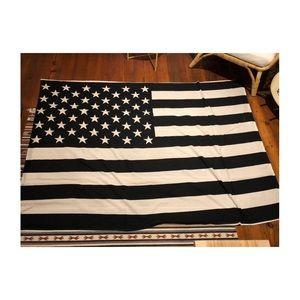 Black and White Tapestry/Flag